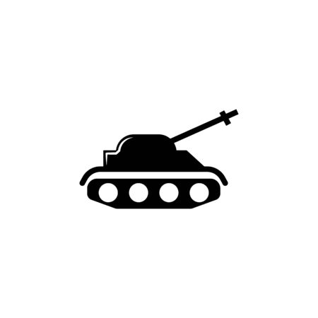 tank, weapons icon. Element of military illustration. Signs and symbols icon for websites, web design, mobile app on white background