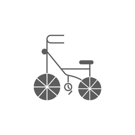 tricycle icon. Element of toys for mobile concept and web apps. Icon for website design and development, app development. Premium icon on white background