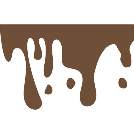 Splash, coffe multicolored icon white background