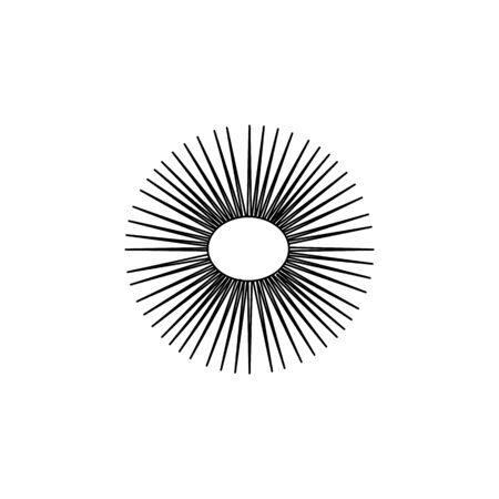 sea urchin icon.Element of popular sea animals icon. Premium quality graphic design. Signs, symbols collection icon for websites, web design, on white background