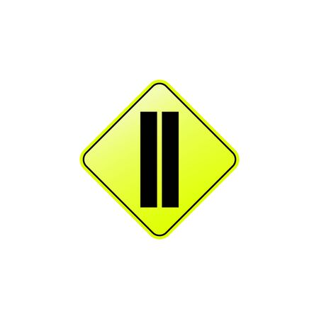 Dubl solid icon. Element of road signs icon for mobile concept and web apps. Colored Dubl solid icon can be used for web and mobile. Premium icon on white background