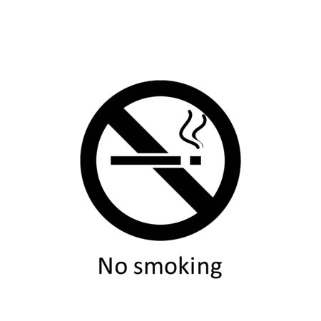 ramadan no smoking icon. Element of Ramadan illustration icon. Muslim, Islam signs and symbols can be used for web, logo, mobile app, UI, UX on white background