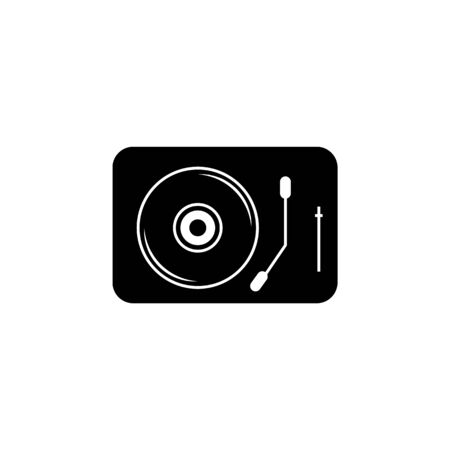 Turntable icon. Element of music icon. Premium quality graphic design icon. Signs and symbols collection icon for websites, web design, mobile app on white background