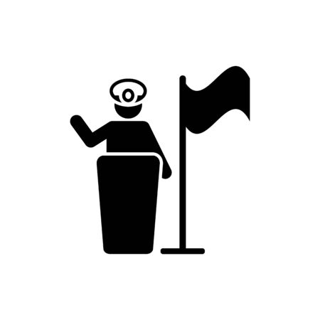 Professions, soldier, training, helmet man pictogram icon on white background