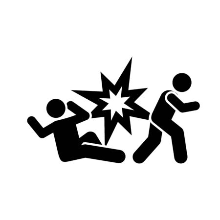 Soldiers, injured, wounded, blood bomb pictogram icon on white background
