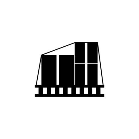 Packing boxes icon. Element of logistics icon. Archivio Fotografico - 137937177