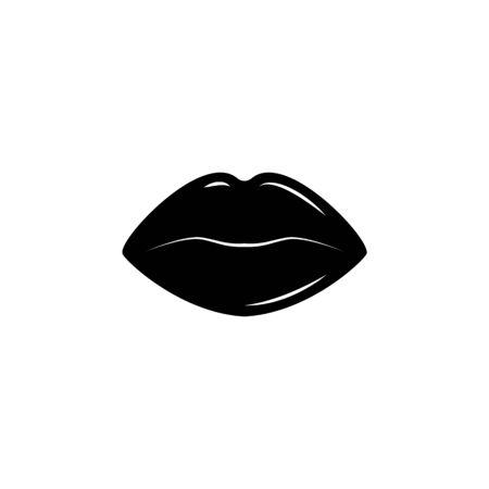 Lips icon. Archivio Fotografico - 137935256