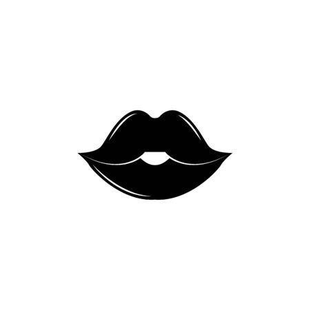 Lips icon. Archivio Fotografico - 137935213