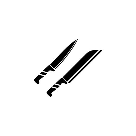knives icon. Element of kitchenware icon. Premium quality graphic design. Signs, outline symbols collection icon for websites, web design, mobile app on white background 일러스트