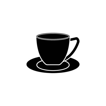 coffee cup icon. Element of kitchenware icon. Premium quality graphic design. Signs, outline symbols collection icon for websites, web design, mobile app on white background