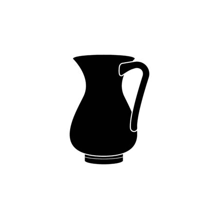 jug of milk icon. Element of kitchenware icon. Premium quality graphic design. Signs, outline symbols collection icon for websites, web design, mobile app on white background