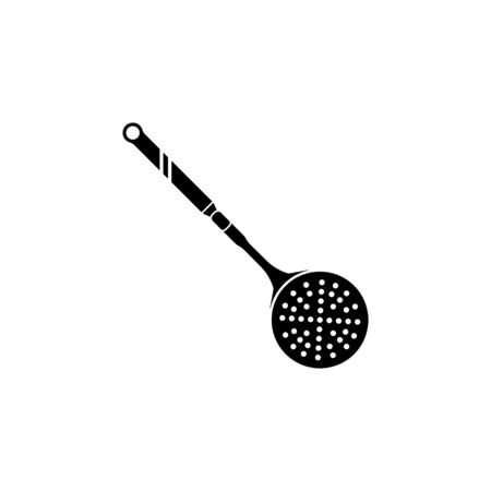 skimmer icon. Element of kitchenware icon. Premium quality graphic design. Signs, outline symbols collection icon for websites, web design, mobile app on white background Reklamní fotografie - 138093743