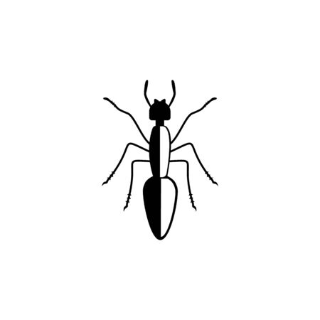 ant icon. Elements of insect icon. Premium quality graphic design. Signs and symbol collection icon for websites, web design, mobile app, info graphics on white background