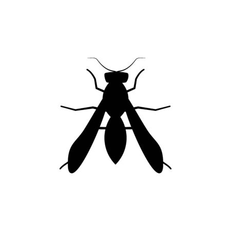 wasp icon. Elements of insect icon. Premium quality graphic design. Signs and symbol collection icon for websites, web design, mobile app, info graphics on white background