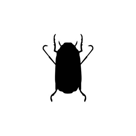 beetle icon. Elements of insect icon. Premium quality graphic design. Signs and symbol collection icon for websites, web design, mobile app, info graphics on white background