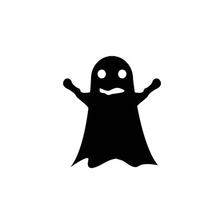 frightening ghost icon. Element of scarecrow icon. Premium quality graphic design icon. Signs and symbols collection icon for websites, web design, mobile app on white background