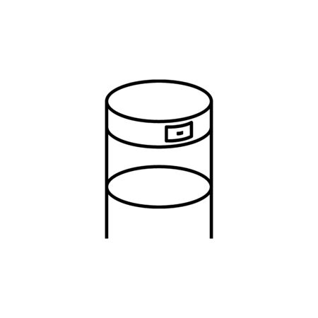 furniture for anteroom icon. Element of furniture for mobile concept and web apps. Thin line  icon for website design and development, app development. Premium icon on white background
