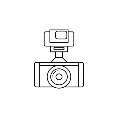 camera icon.Element of popular camera icon. Premium quality graphic design. Signs, symbols collection icon for websites, web design, on white background