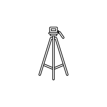 tripod icon.Element of popular camera icon. Premium quality graphic design. Signs, symbols collection icon for websites, web design, on white background