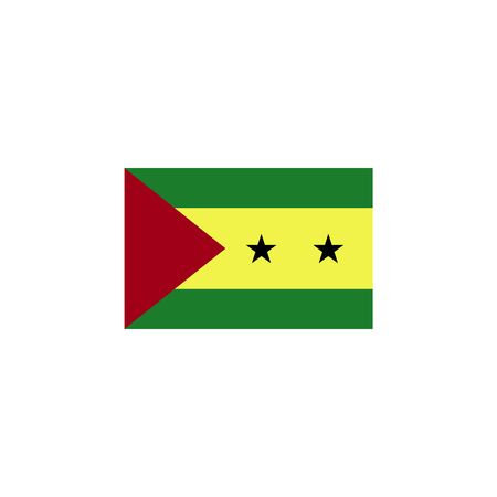 flag of sao tome and Principe colored icon. Elements of flags illustration icon. Signs and symbols can be used for web, logo, mobile app, UI, UX on white background