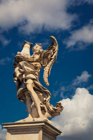 Angel statue rome italy