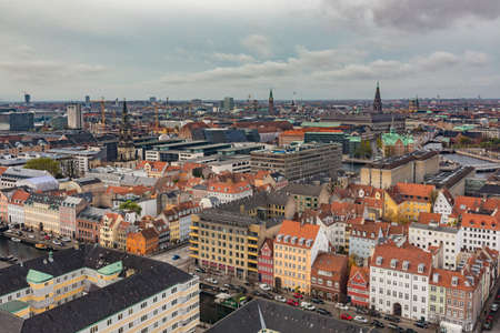 Copenhagen City, Denmark, Scandinavia. Stock Photo