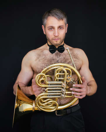Muscle naked musician