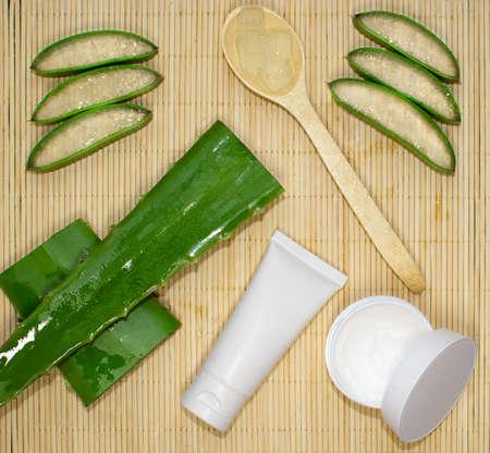 Aloe vera cut treatment kit