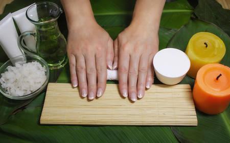 Hands treatment kit Фото со стока