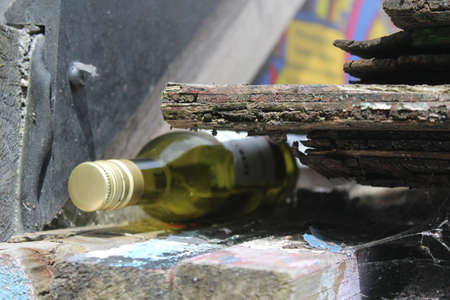 streetlife: Drinking in the Streets of Manchester Stock Photo