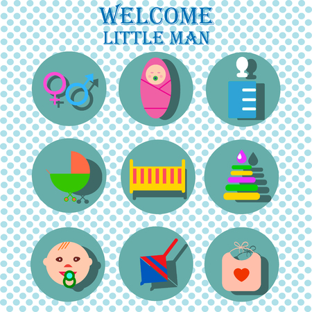 Perfect detailed baby icons made in vector Illustration
