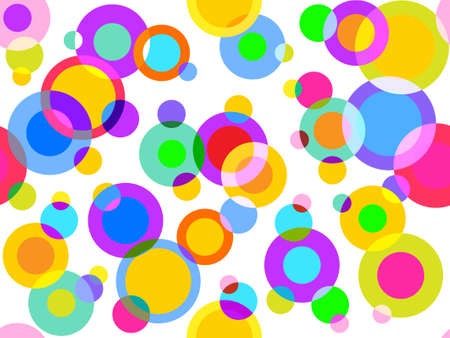 seamless background izraznotsvetnyh circles