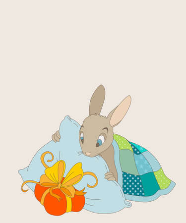 Little Bunny finds a gift under your pillow
