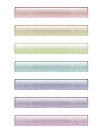 seven elements of light colors for text with dotted patterns