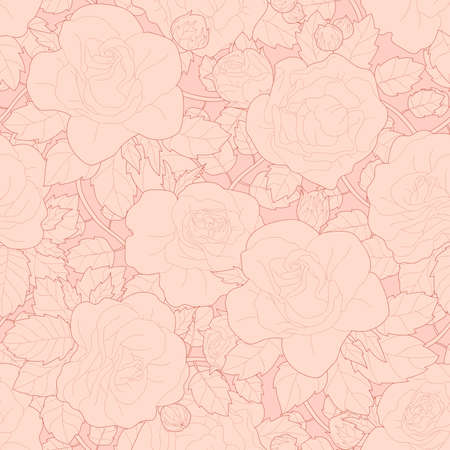 jointless: Seamless floral pattern with roses