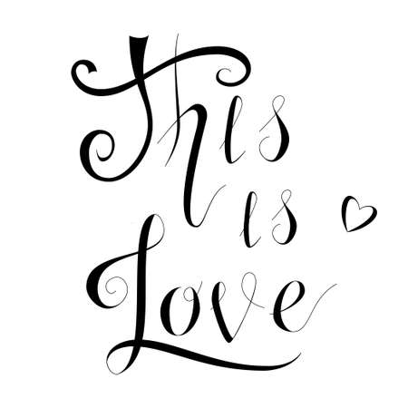 this is love lettering