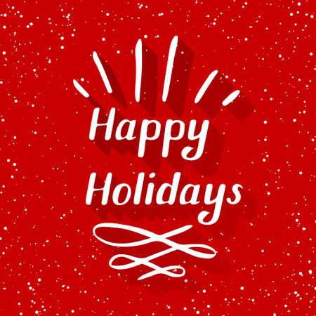 holidays: happy holidays small