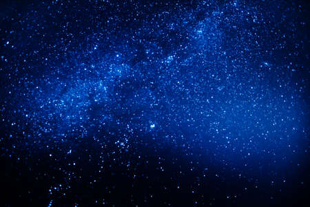 starry sky Stock Photo