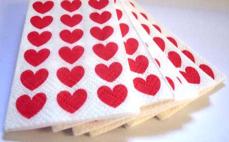 tissues: Love tissues Stock Photo