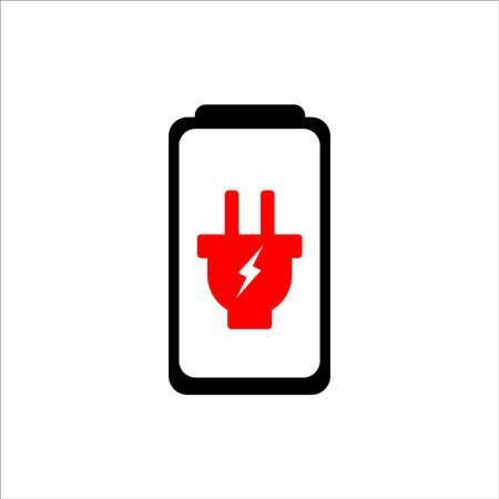 battery icon vector illustration template  design