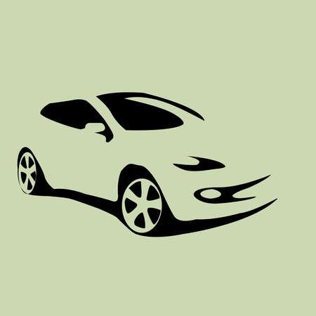 car icon automobile vector illustration