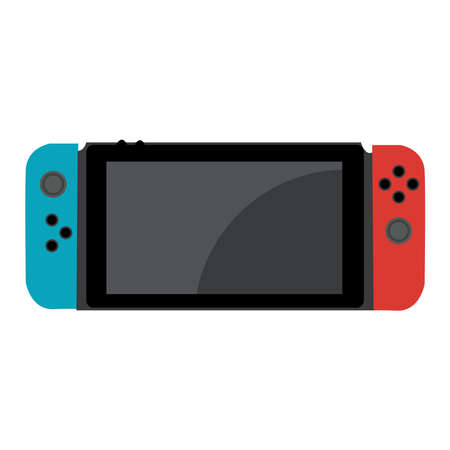Picture of console on a background