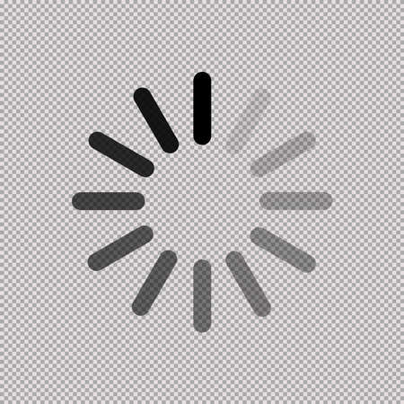 download icon on transparent background Foto de archivo - 145617467