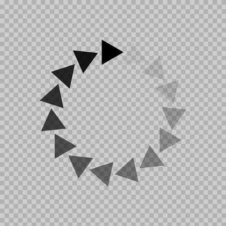 download icon on transparent background Foto de archivo - 145617470