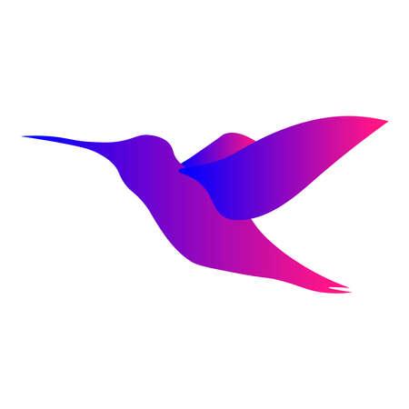 Bird icon on a white background.