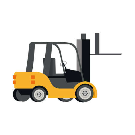 Loader on a white background.