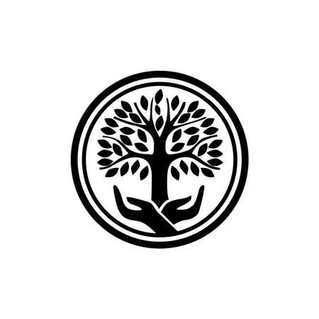 Tree icon on a white background.