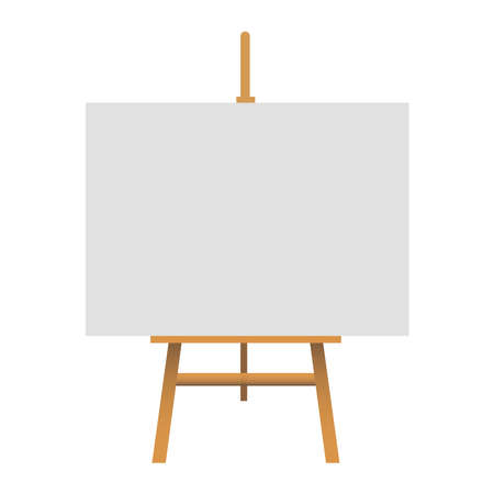 Picture of Easel on a white background.