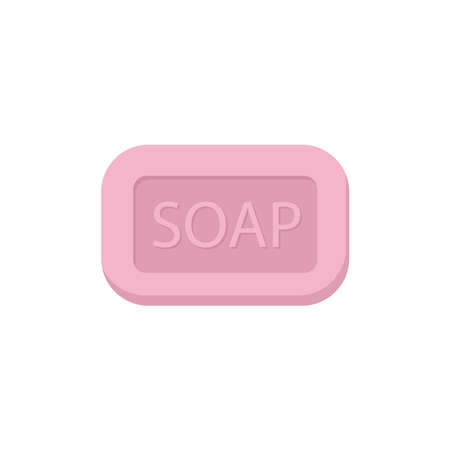 Soap icon on a white background. Vectores