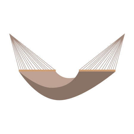 Hammock icon on a white background. Vectores